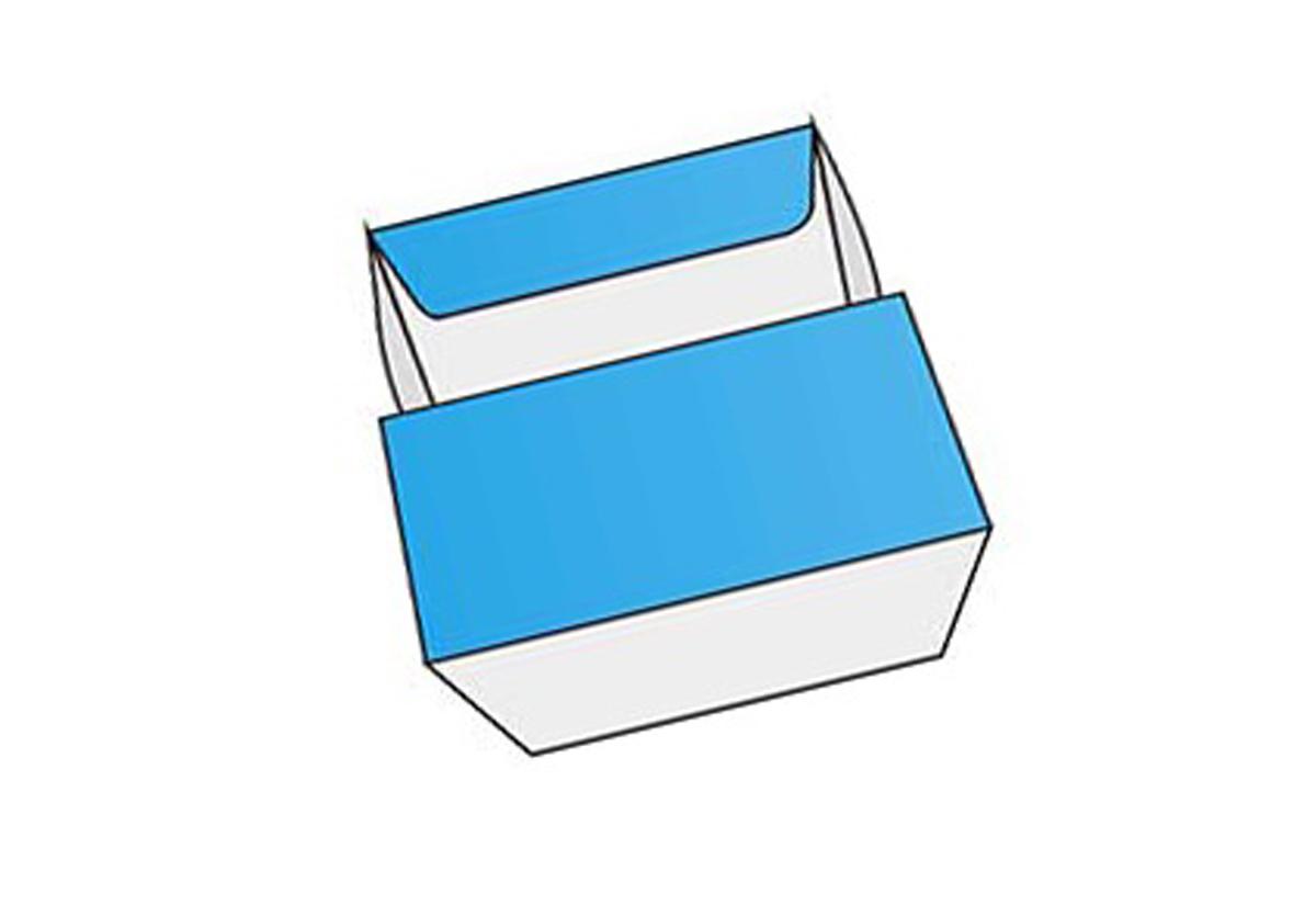 4 Corner Tray Tuck Top