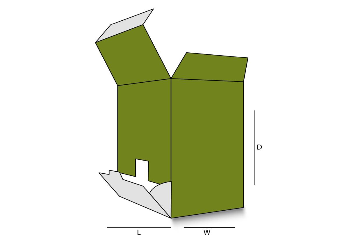 FlipOut Dispenser Box