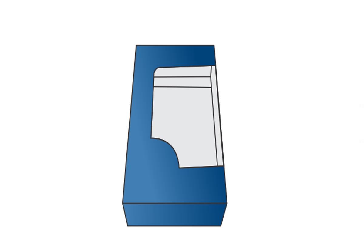 Straight T Window Box