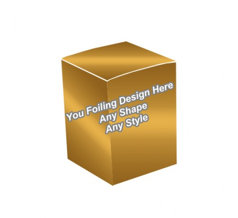 Golden Foiling - Essential Oil Packaging